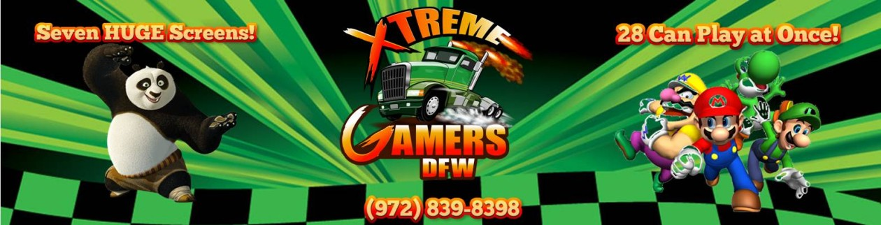 Xtreme Gamers DFW – Video Game Truck Highland Village Denton Flower Mound Lewisville Grapevine Dallas Forth Worth Texas