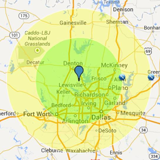 dallas-fort-worth-video-game-party-service-area