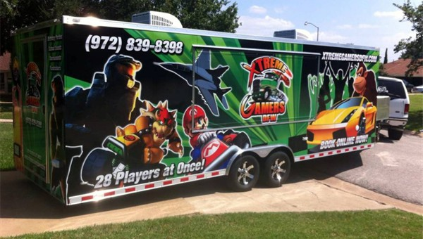 It's our Amazing Mobile Video Game Truck